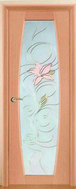 Нуво ДО стекло вдохновен цвет орех, венге