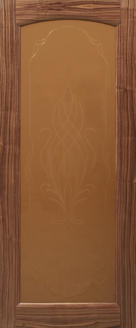Жемчужина арка ДО цвет американский орех