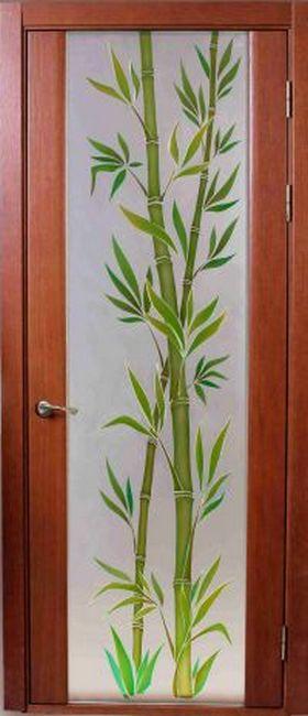 Сапфир ДО цвет 74 тон фотопечать бамбук