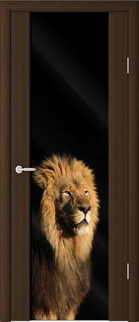 Сапфир ДО цвет венге фотопечать лев